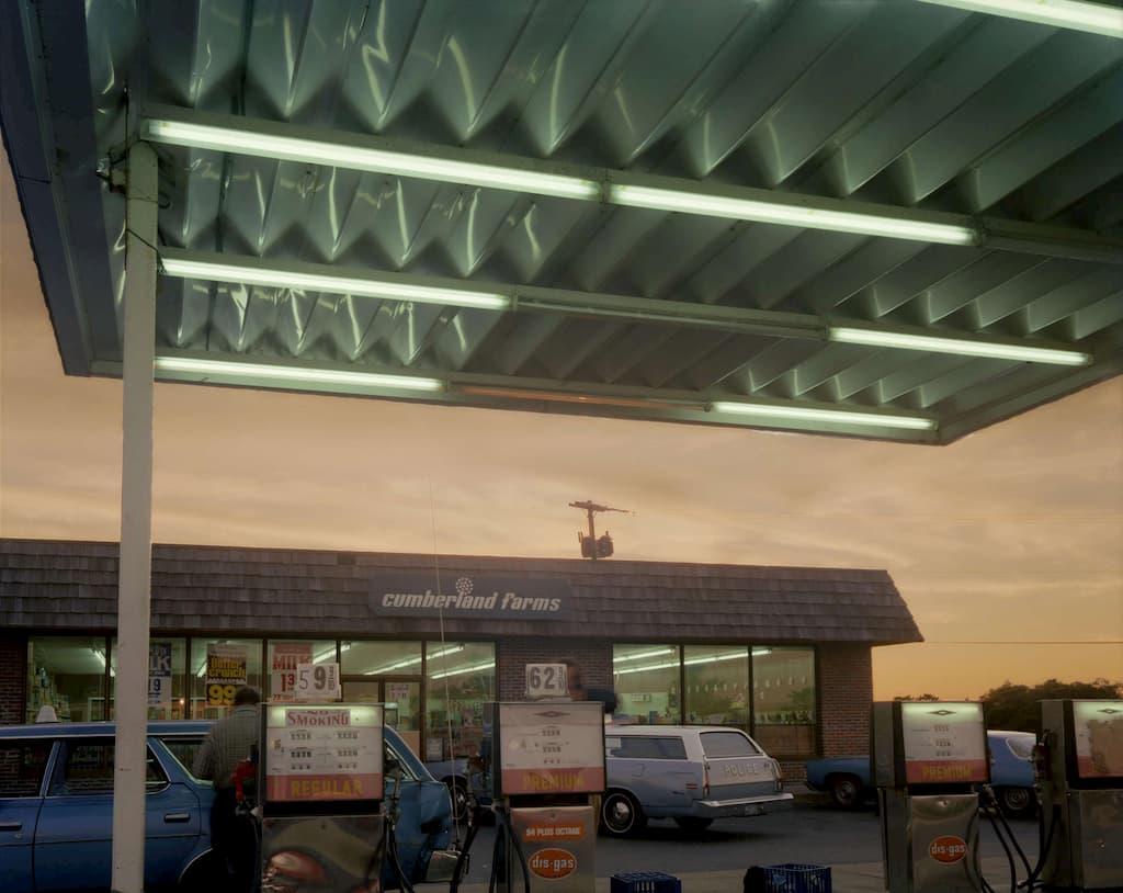 Joel Meyerowitz : station service
