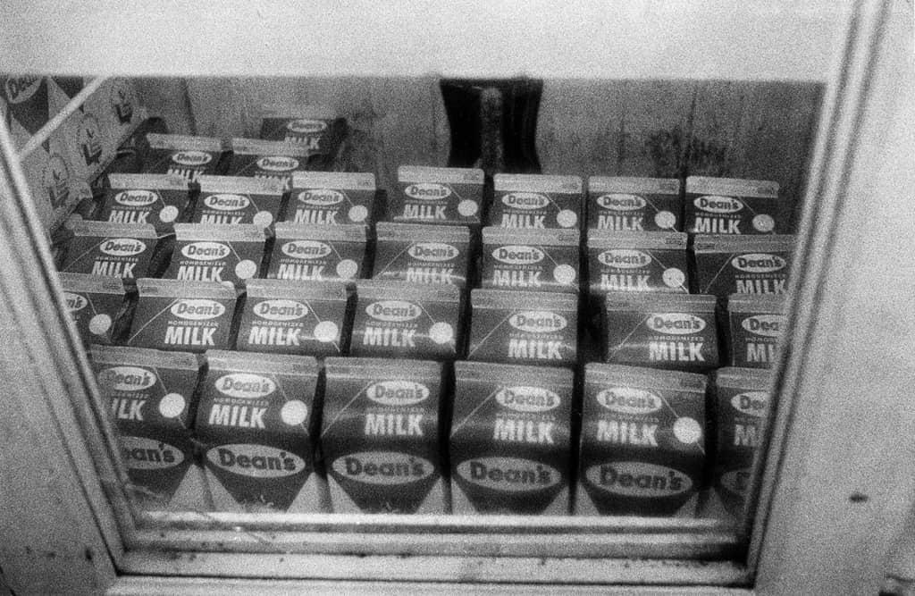 William Eggleston, bouteilles de lait
