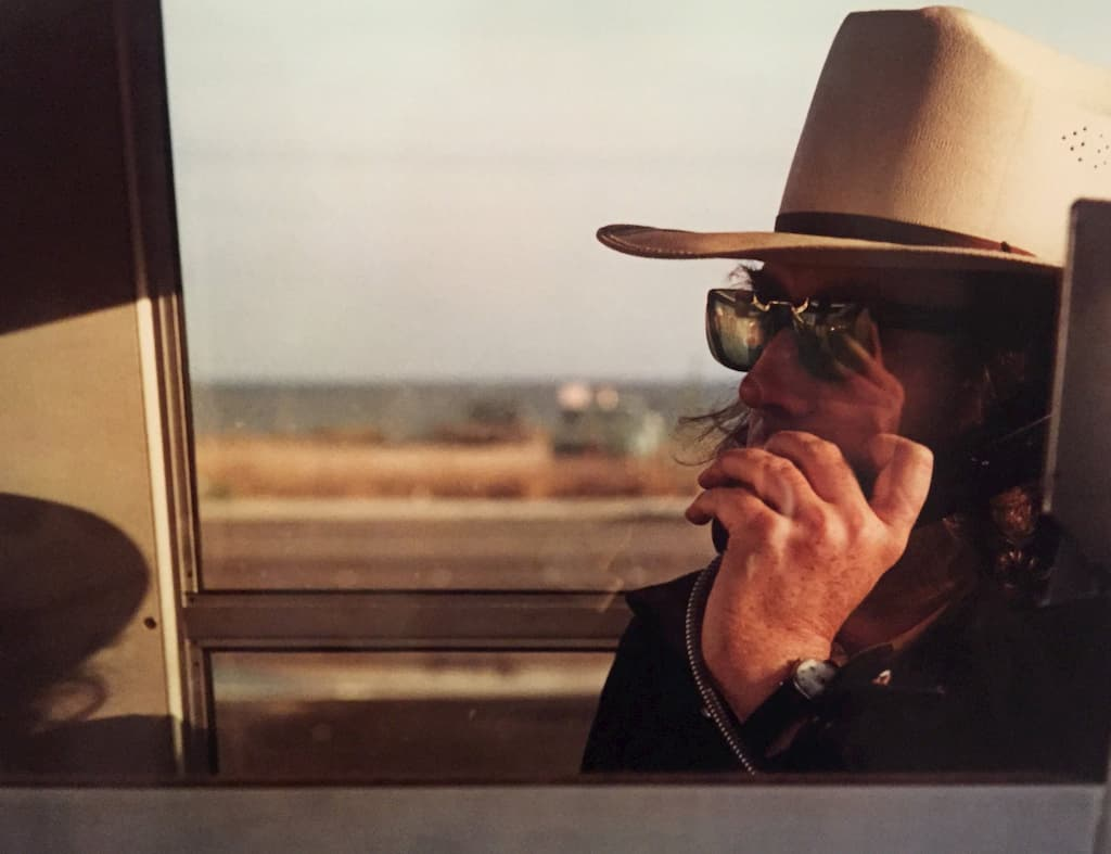 Walter Hopps par William Eggleston - Los Alamos - Vers 1970