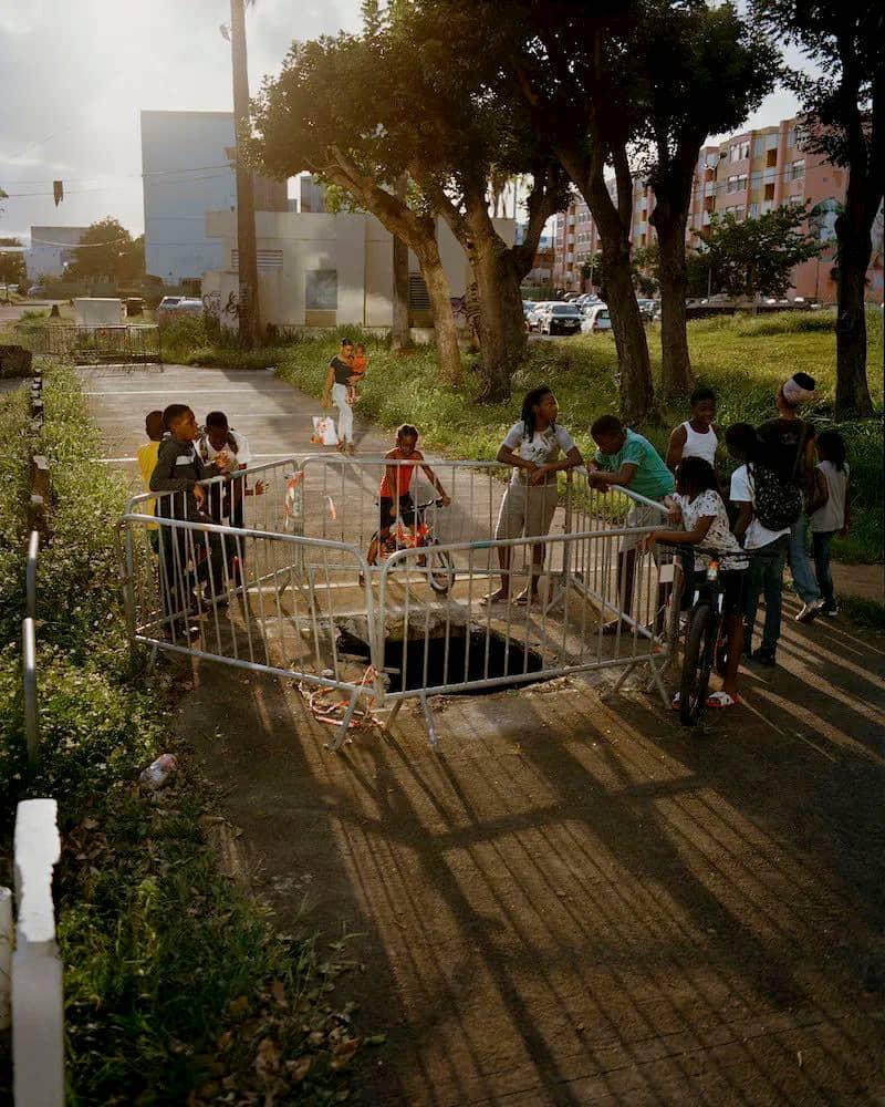 Trou en Guadeloupe photographié par Gregory Halpern