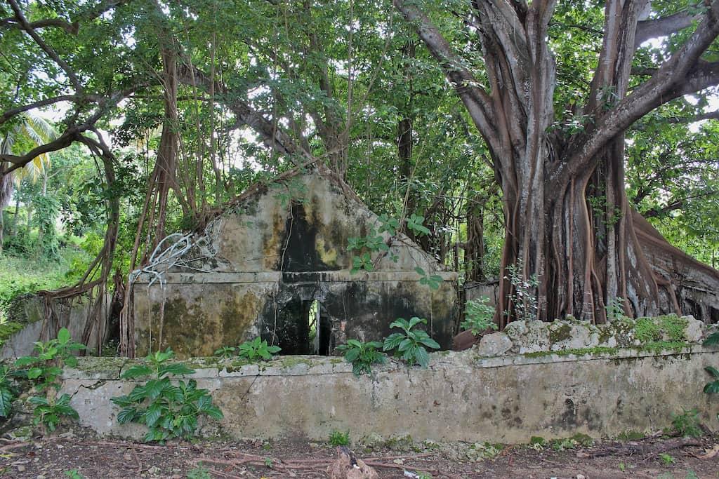 Ancienne prison à Petit-Canal en Guadeloupe