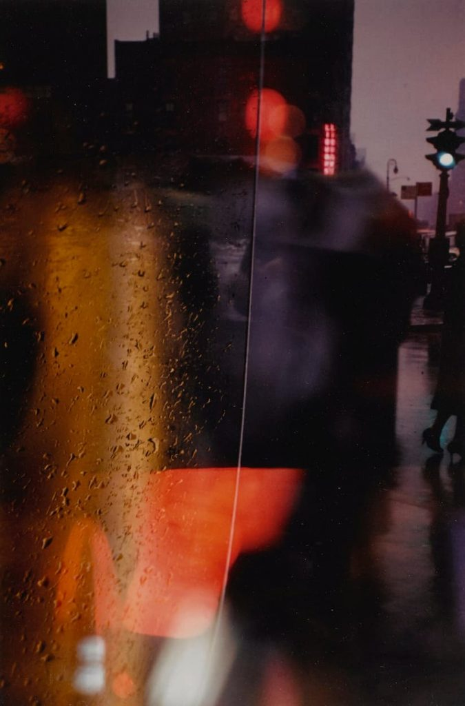 Saul Leiter - Walk with Soames - 1958