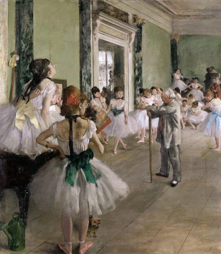 Edgar Degas - La classe de danse - 1874