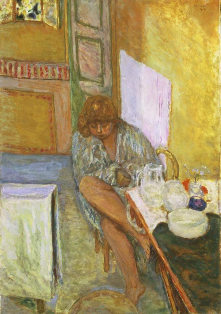 Pierre Bonnard - Après la douche - 1914