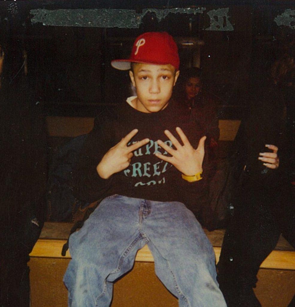 Photo de Khalik Allah à l'âge de 13 ans